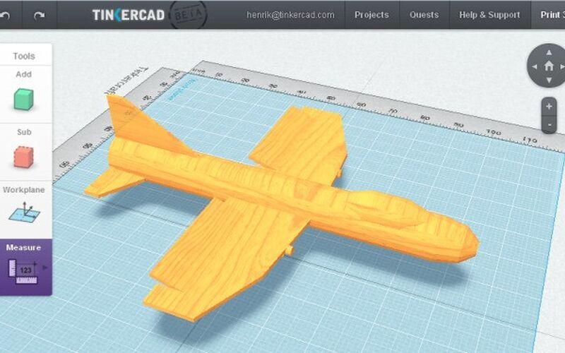 Скриншот 1 программы Autodesk Tinkercad
