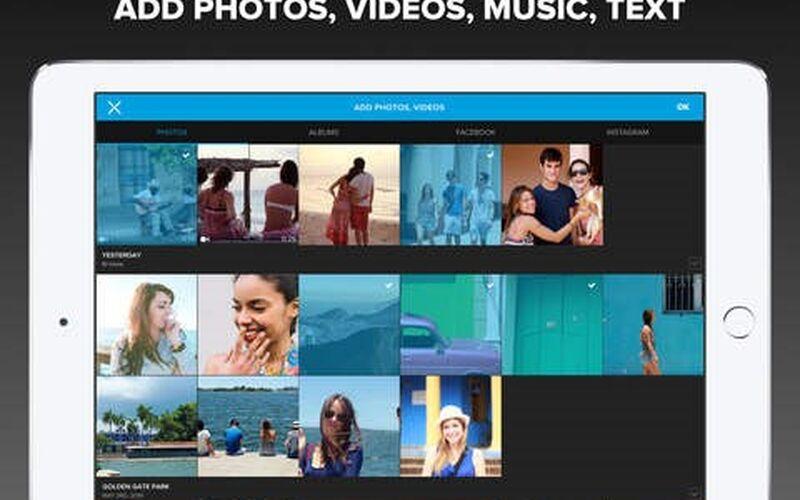Скриншот 1 программы Quik by GoPro