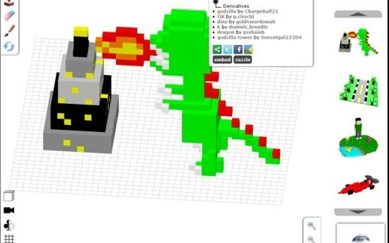 Скриншот 1 программы 3DTin