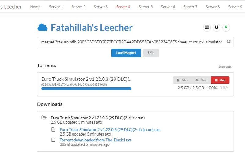 Скриншот 1 программы fatahillah's leecher