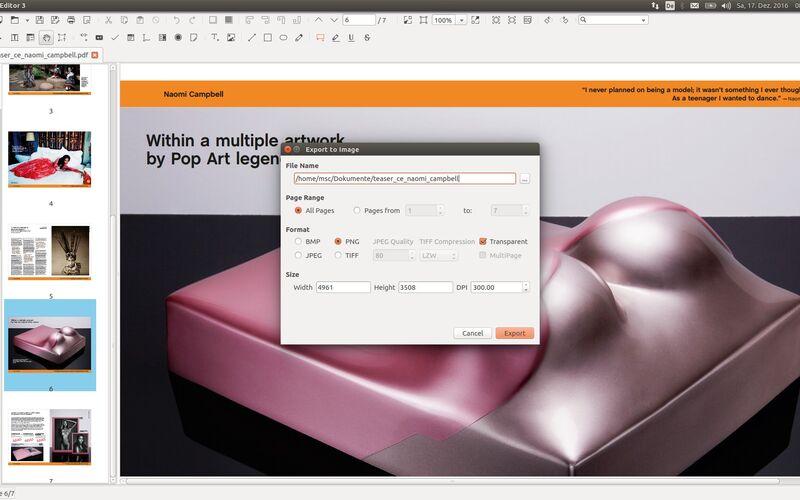 Скриншот 1 программы Master PDF Editor