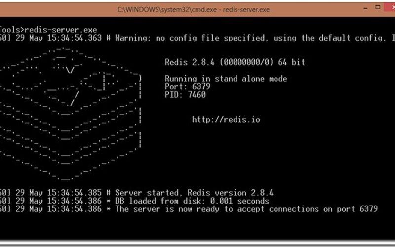 Скриншот 1 программы Redis