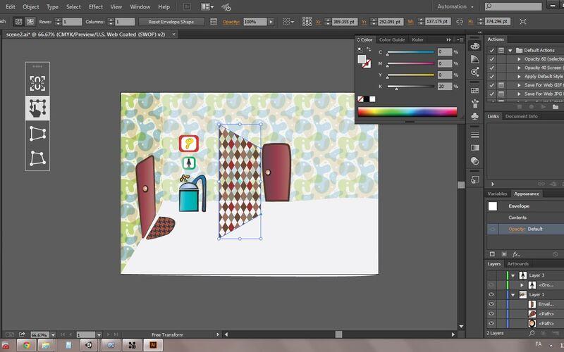 Скриншот 1 программы Adobe Illustrator CC