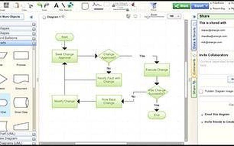 Скриншот 1 программы Creately