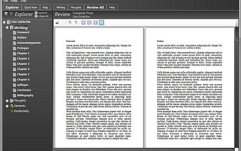 Скриншот 1 программы FreeWriter