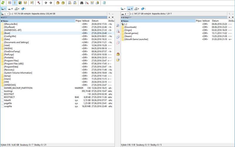 Скриншот 1 программы Total Commander