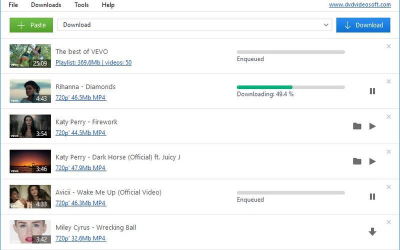 Скриншот 1 программы Free YouTube Download