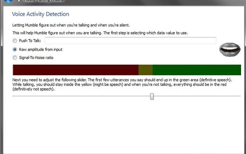 Скриншот 1 программы Mumble