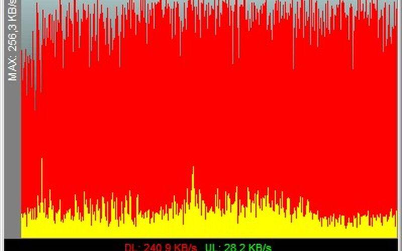 Скриншот 1 программы NetMeter