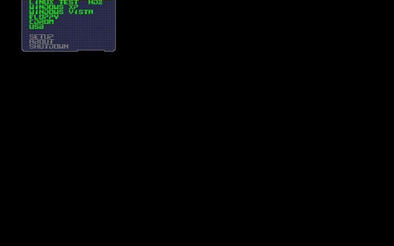 Скриншот 1 программы PLoP Boot Manager