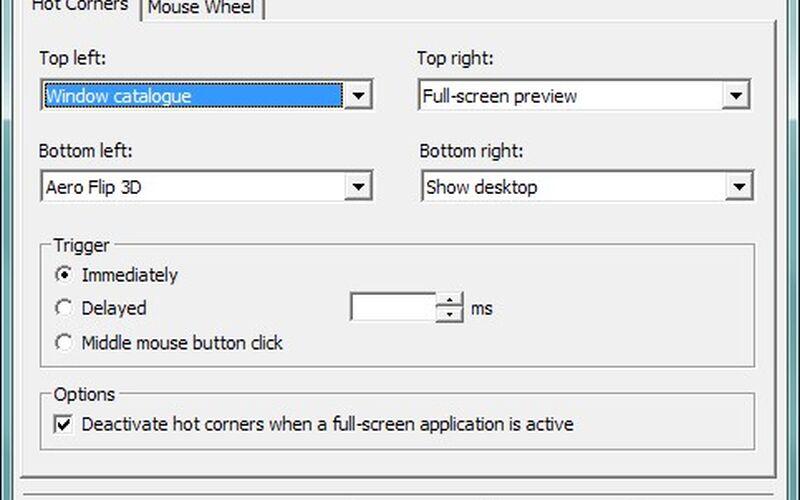Скриншот 1 программы Dexpot