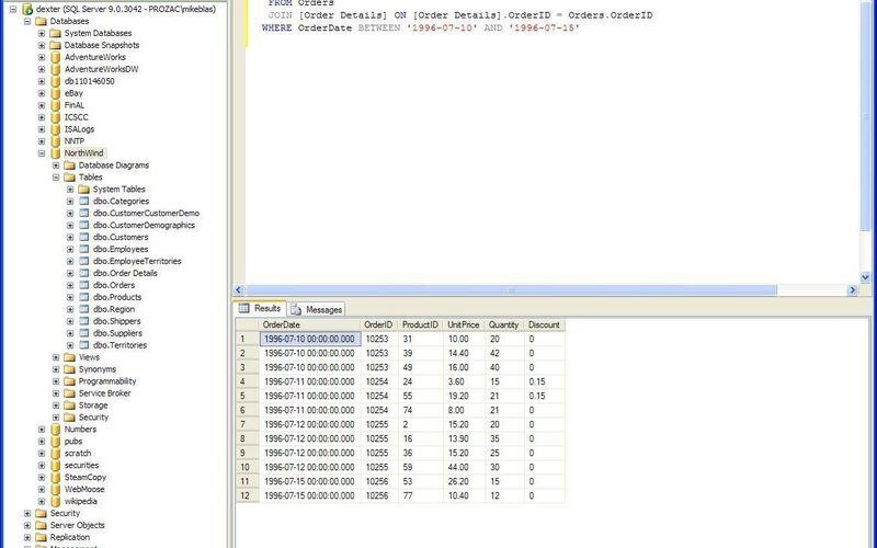 Скриншот 1 программы SQL Server Management Studio