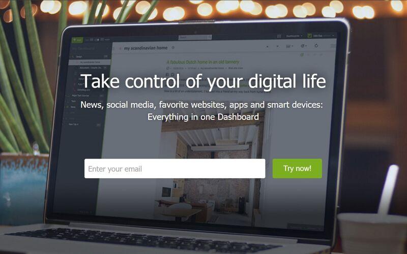 Скриншот 1 программы Netvibes
