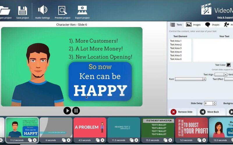 Скриншот 1 программы VideoMakerFX