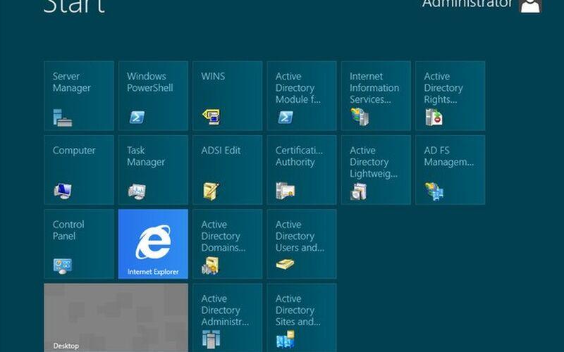 Скриншот 1 программы Windows Server 2012