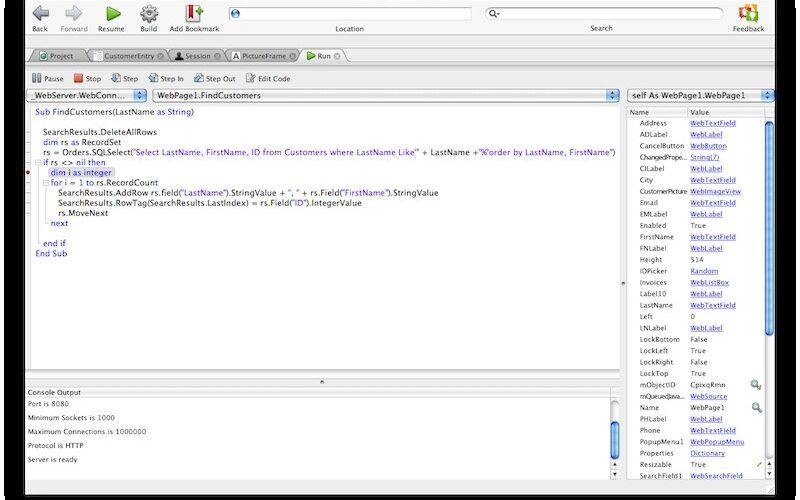 Скриншот 1 программы Xojo