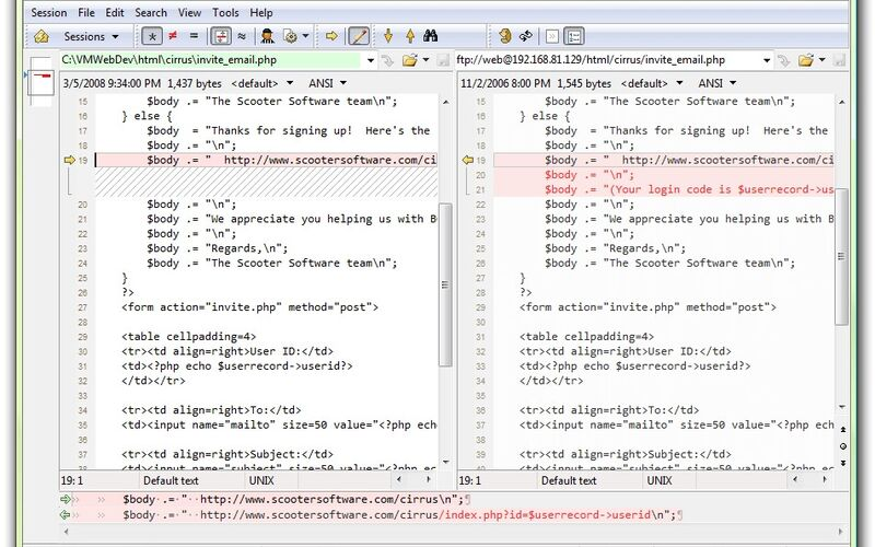 Скриншот 1 программы Beyond Compare