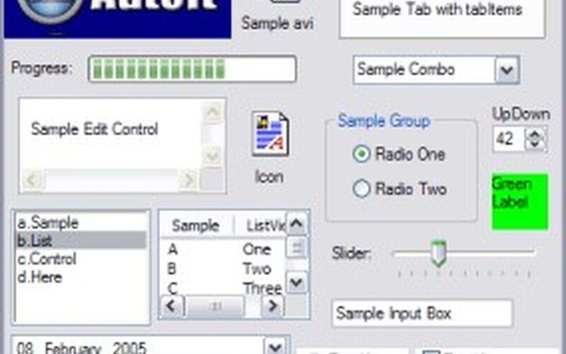 Скриншот 1 программы AutoIt