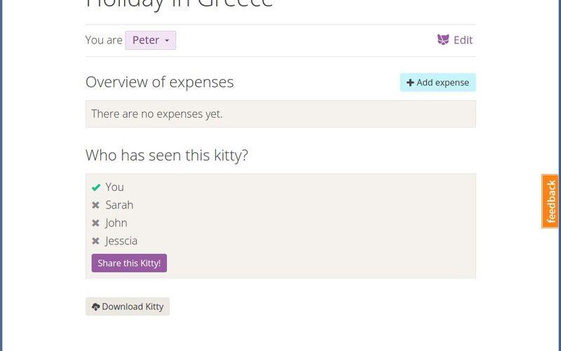 Скриншот 1 программы Kittysplit