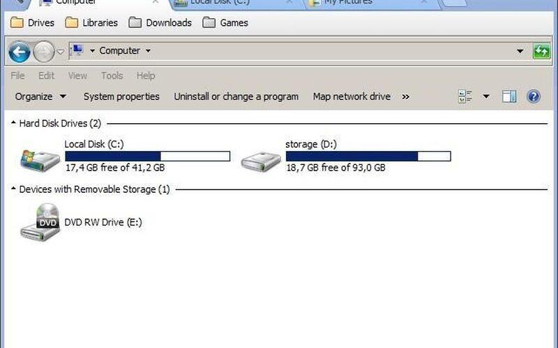 Скриншот 1 программы Clover