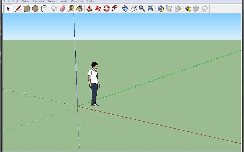 Скриншот 1 программы Sketchup