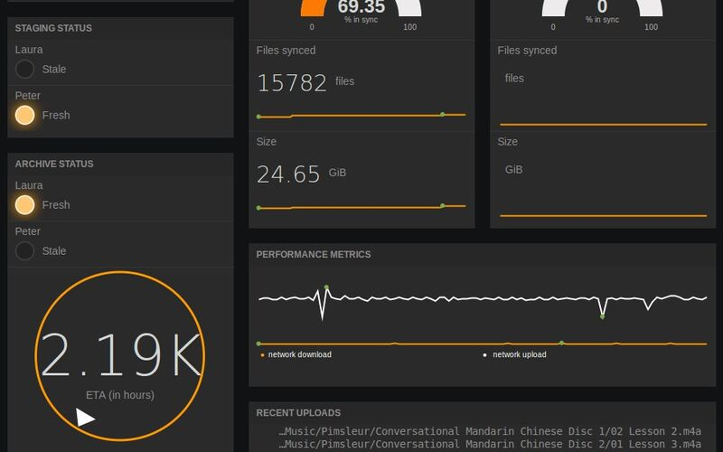 Скриншот 1 программы freeboard