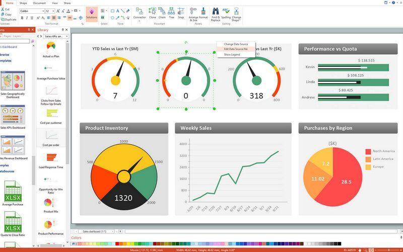 Скриншот 1 программы ConceptDraw PRO