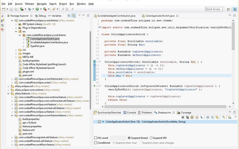 Скриншот 1 программы Eclipse
