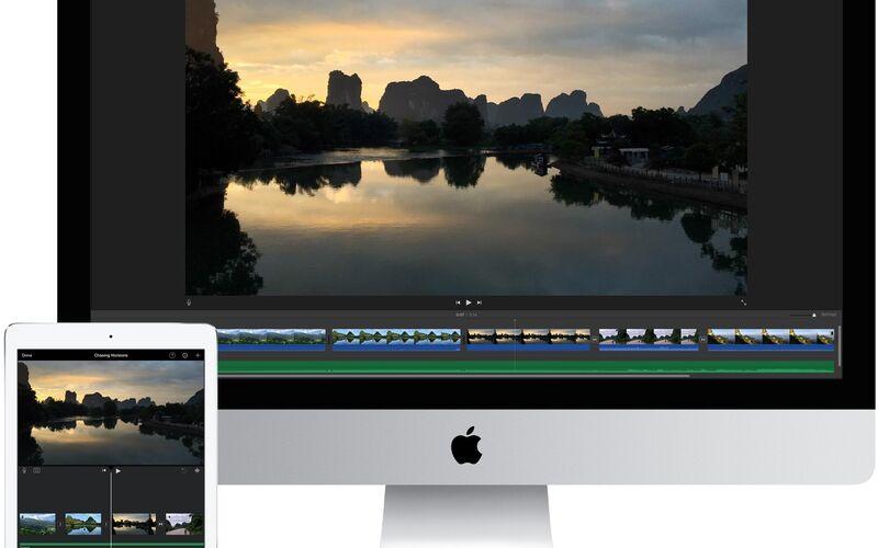 Скриншот 1 программы iMovie