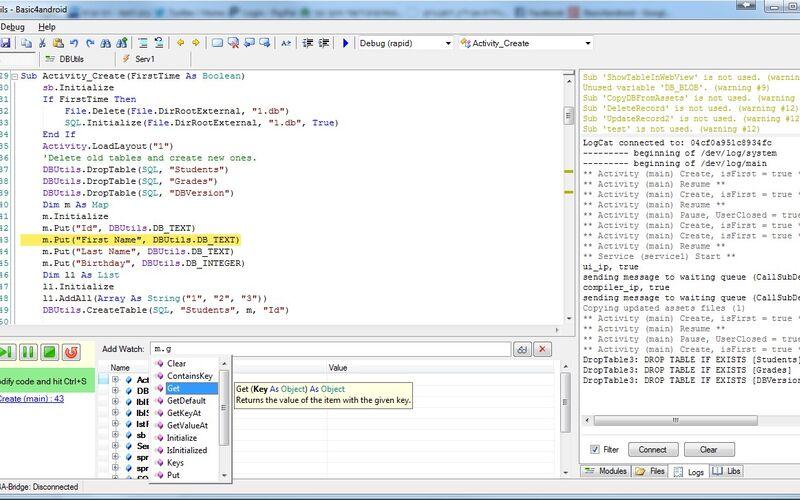 Скриншот 1 программы B4X