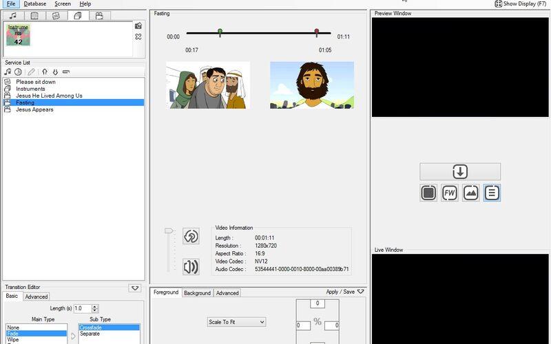 Скриншот 1 программы FreeWorship
