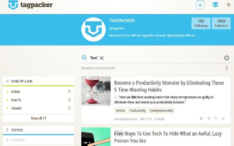 Скриншот 1 программы Tagpacker