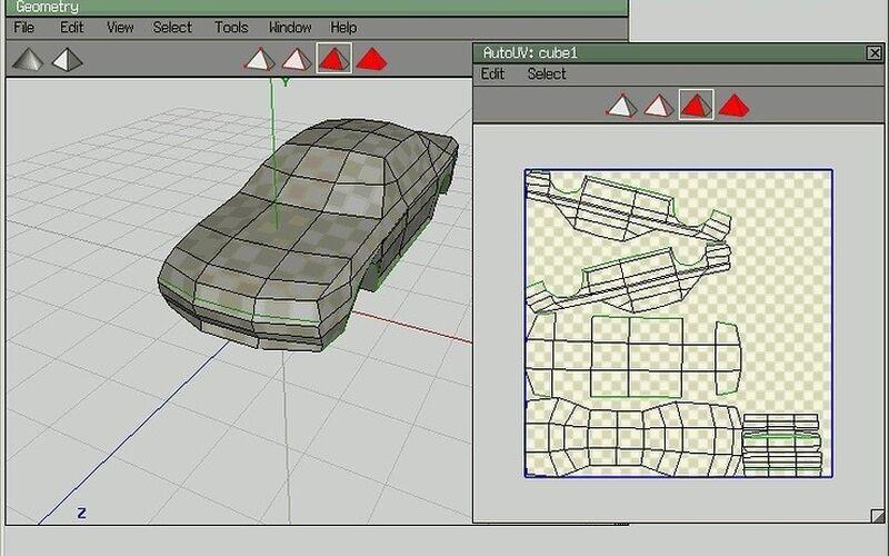 Скриншот 1 программы Wings 3D