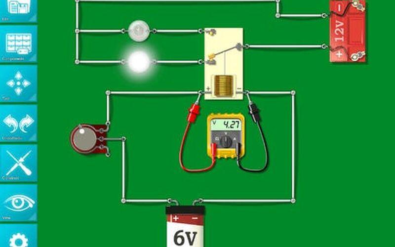 Скриншот 1 программы Circuit Builder