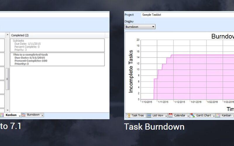 Скриншот 1 программы ToDoList