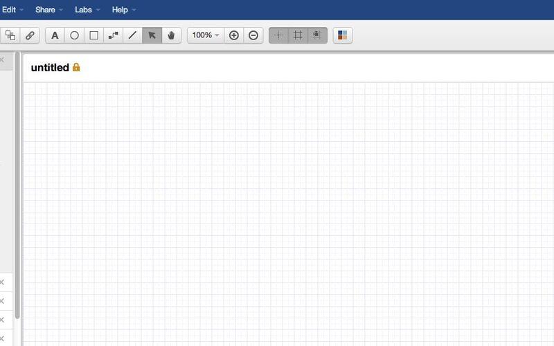 Скриншот 1 программы Gliffy