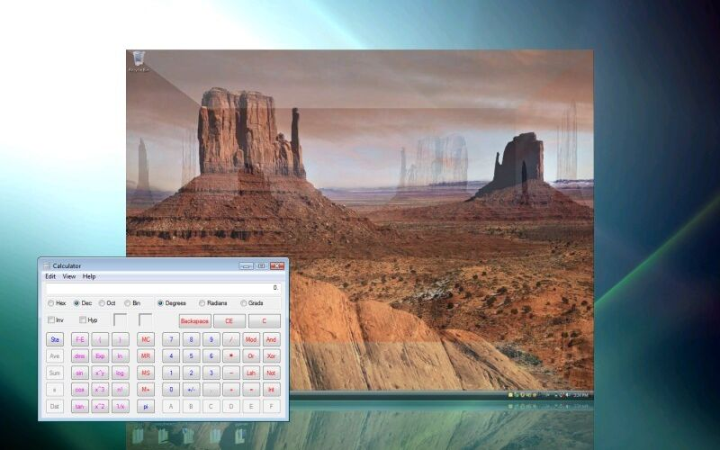 Скриншот 1 программы DeskSpace