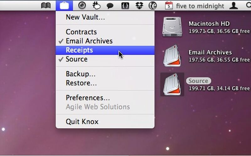 Скриншот 1 программы Knox
