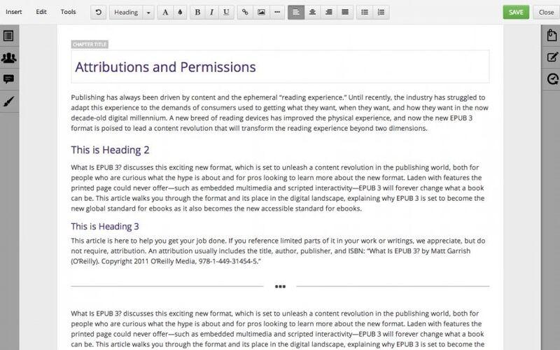 Скриншот 1 программы Booktype