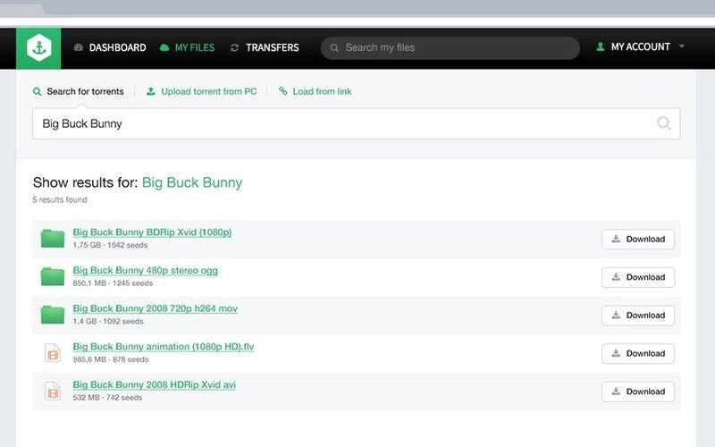Скриншот 1 программы Bitport.io