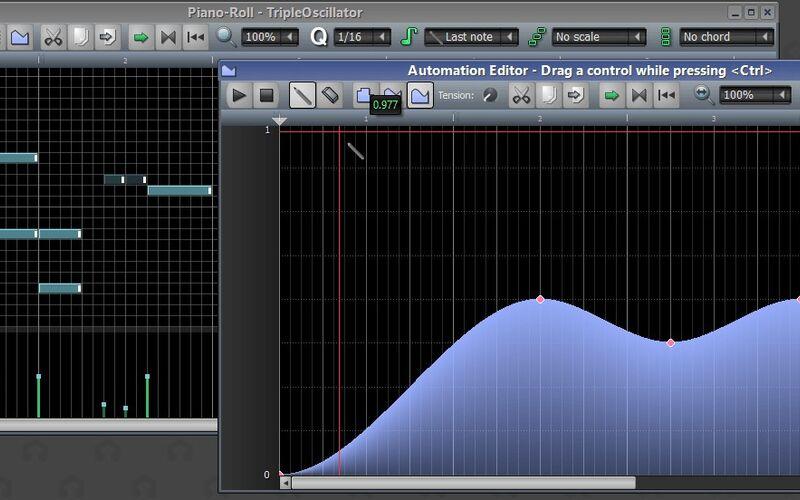 Скриншот 1 программы LMMS