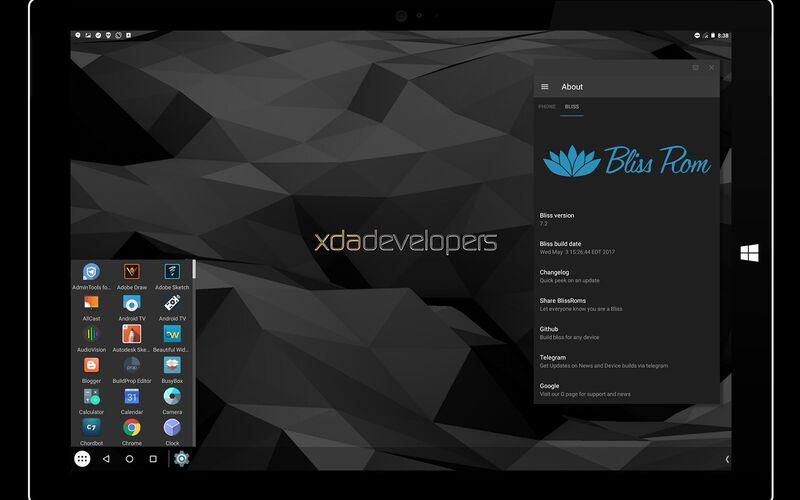 Скриншот 1 программы Bliss Os