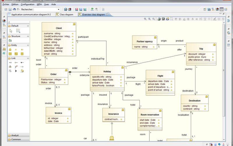 Скриншот 1 программы Modelio