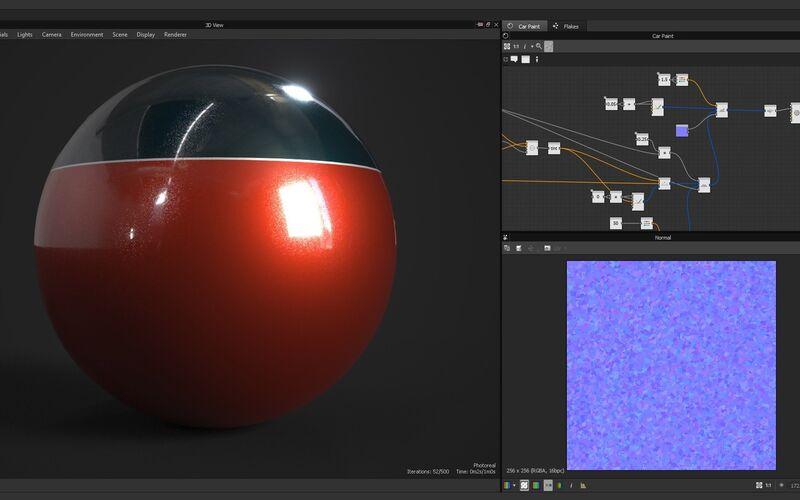 Скриншот 1 программы Substance Designer