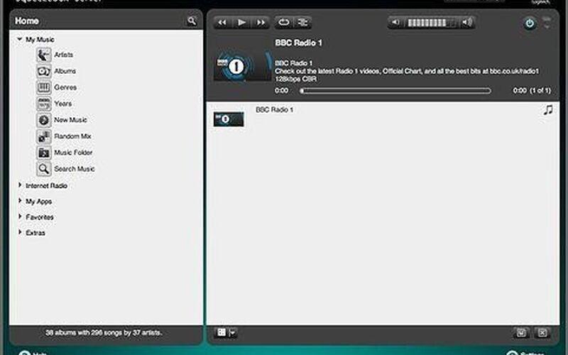 Скриншот 1 программы Logitech Media Server