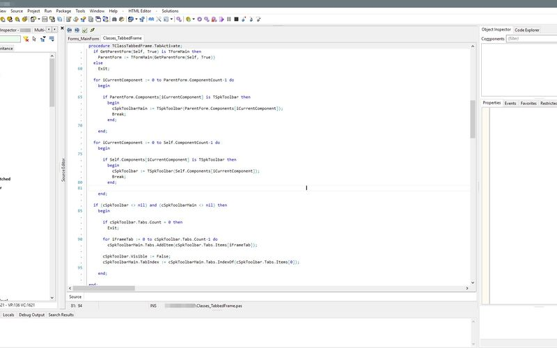 Скриншот 1 программы CodeTyphon