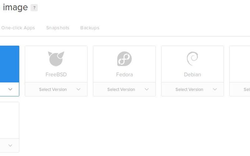 Скриншот 1 программы DigitalOcean
