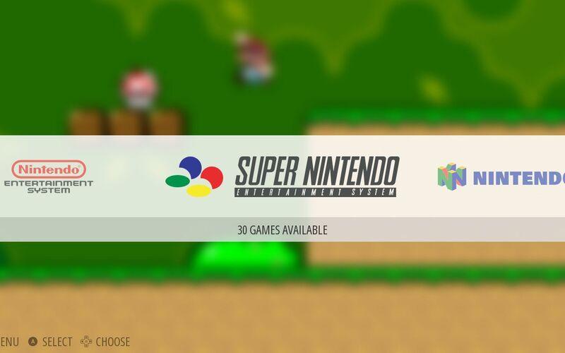 Скриншот 1 программы EmulationStation