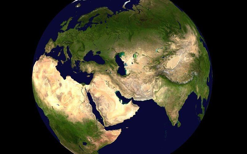 Скриншот 1 программы NASA World Wind