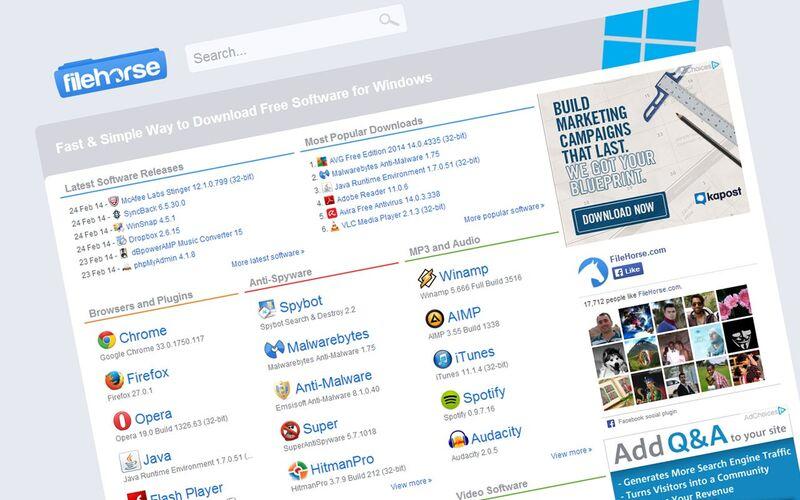 Скриншот 1 программы FileHorse.com